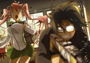 Highschool of the Dead – Ale gej porno z cyckami