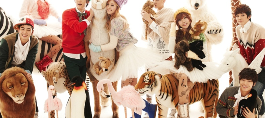 Orange Caramel & Nu'est – Dashing Through The Snow with High Heels