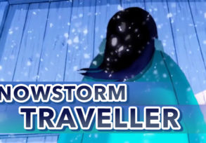 Snowstorm Traveller